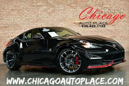 2015 Nissan 370Z NISMO - W/ TECH PACKAGE 6 SPEED MANUAL 3.7L V6 ENGINE RED NISMO SPORT SEATS W/ BLACK INSERTS NAVIGATION BACKUP CAMERA KEYLESS GO Bensenville IL