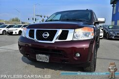2015_Nissan_Armada_Platinum / 4X4 / Front & Rear Heated Leather Seats / Heated Steering Wheel / Navigation / Sunroof / Bose Speakers / Bluetooth / Back Up Camera / 3rd Row / Seats 8 / Rear Entertainment / Tow Pkg_ Anchorage AK