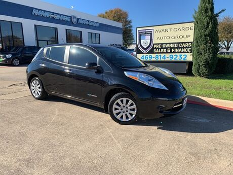 2015 Nissan LEAF S REAR VIEW CAMERA, BLUETOOTH, XM RADIO, PREMIUM STEREO!!! BOTH KEYS AND CHARGER!!! EXTRA CLEAN!!! GREAT VALUE!!! Plano TX
