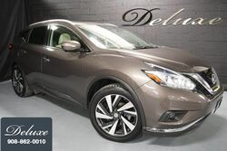 Nissan Murano Platinum AWD, Navigation System, Rear-View Camera, Bose Premium Sound, Ventilated Leather Seats, Panorama Sunroof, 20-Inch Alloy Wheels, 2015