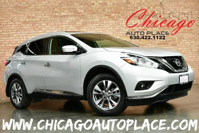 2015 Nissan Murano SL - 3.5L V6 ENGINE FRONT WHEEL DRIVE NAVIGATION BACKUP CAMERA TOP VIEW CAMERAS PANO ROOF BOSE AUDIO KEYLESS GO Bensenville IL