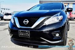 2015_Nissan_Murano_SL / AWD / 3.5L V6 / Power & Heated Leather Seats / Heated Steering Wheel / Panoramic Sunroof / Navigation / Bose Speakers / Auto Start / Bluetooth / Back-Up Camera / 28 MPG_ Anchorage AK