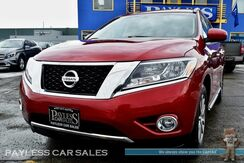2015_Nissan_Pathfinder_SV / 4X4 / Automatic / Auto Start / Power Driver's Seat / Bluetooth / Back-Up Camera / 3rd Row / Seats 7 / Luggage Rack / 26 MPG_ Anchorage AK