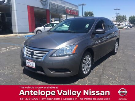 2015_Nissan_Sentra_S_ Palmdale CA