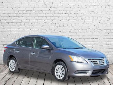2015_Nissan_Sentra_S_ Southern Pines NC