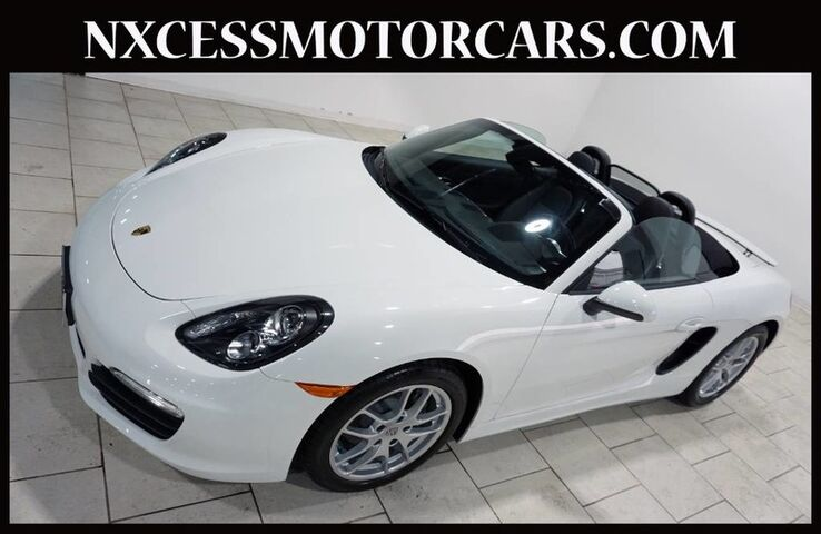 2015 Porsche Boxster CONVERTIBLE HEATED FRONT SEATS 1-OWNER JUST 13K MILES. Houston TX