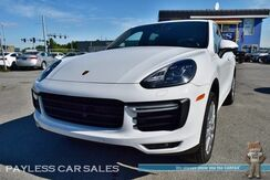 2015_Porsche_Cayenne_Turbo / AWD / 4.8L Twin Turbo V8 / Air Suspension / Heated & Cooled Leather Seats / Sunroof / Navigation / Burmester Speakers / Blind Spot Monitor / Tow Pkg_ Anchorage AK