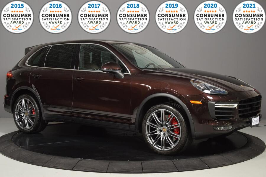 2015_Porsche_Cayenne_Turbo_ Glendale Heights IL