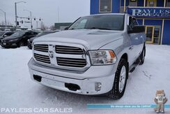 2015_Ram_1500_Big Horn / 4X4 / 3.0L V6 Turbo Diesel / Crew Cab / Auto Start / Power Driver's Seat / Seats 6 / Bluetooth / Cruise Control / Tonneau Cover / Bed Liner / Tow Pkg_ Anchorage AK