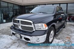 2015_Ram_1500_Big Horn / 4X4 / Crew Cab / 3.6L V6 / Auto Start / Heated Seats & Steering Wheel / Sunroof / Bluetooth / Back Up Camera /Alpine Speakers / Seats 6 / Running Boards / Block Heater / Bed Liner / Tow Pkg / 1-Owner_ Anchorage AK