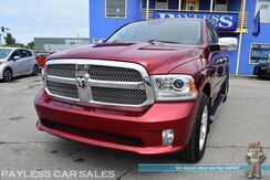 2015_Ram_1500_Limited / 4X4 / Turbo Diesel / Crew Cab / Air Suspension / Heated & Ventilated Power Leather Seats / Heated Steering Wheel / Auto Start / Alpine Speakers / Sunroof / Navigation / Bluetooth / Back Up Camera / Tonneau Cover / Tow Pkg / 1-Owner_ Anchorage AK