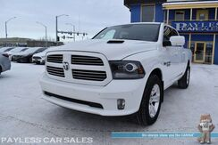 2015_Ram_1500_Sport / 4X4 / 5.7L HEMI V8 / Crew Cab / Auto Start / Heated & Cooled Leather Seats / Heated Steering Wheel / Navigation / Sunroof / Alpine Speakers & Subwoofer / Bluetooth / Back Up Camera / Tow Pkg_ Anchorage AK