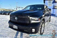 2015_Ram_1500_Sport / 4X4 / 5.7L V8 HEMI / Crew Cab / Air Suspension / Heated & Cooled Leather Seats / Heated Steering Wheel / Navigation / Alpine Speakers / Sunroof / Auto Start / Bluetooth / Back Up Camera / Only 36k Miles / Tow Pkg_ Anchorage AK