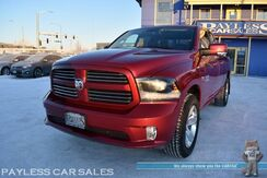2015_Ram_1500_Sport / 4X4 / Quad Cab / 5.7L HEMI V8 / Power & Heated Seats / Heated Steering Wheel / Navigation / Sunroof / Auto Start / Bluetooth / Back Up Camera / Bed Liner / Tow Pkg / 21 MPG / Only 28K Miles_ Anchorage AK