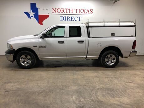 2015 Ram 1500 Tradesman 4X4 Camper Shell Bed Liner ARE Tool Master Mansfield TX
