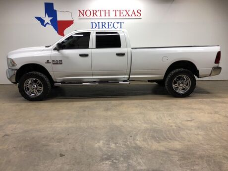 2015 Ram 2500 4x4 Diesel Crew Lifted Chrome XD Wheels 35 Tires Mansfield TX