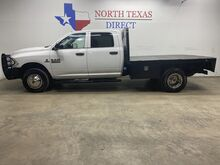 2015_Ram_3500_FREE DELIVERY Diesel 4x4 Dually Aisin Crew Flat Bed Bluetooth_ Mansfield TX