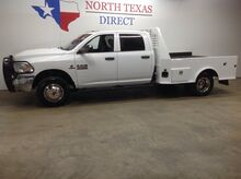 2015_Ram_3500_SLT 4x4 Diesel Dually Skirted Flatbed Bluetooth Touch Screen_ Mansfield TX