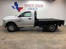 2015_Ram_3500_Tradesman 4X4 Regular Cab Flat Bed Dually 6.7 Diesel_ Mansfield TX