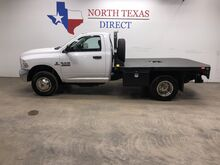 2015_Ram_3500_Tradesman Diesel Dually Flat Bed Regular Cab 5th Wheel_ Mansfield TX