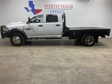 2015_Ram_4500_FREE DELIVERY! 4x4 Diesel Dually Aisin Crew Flat Bed_ Mansfield TX