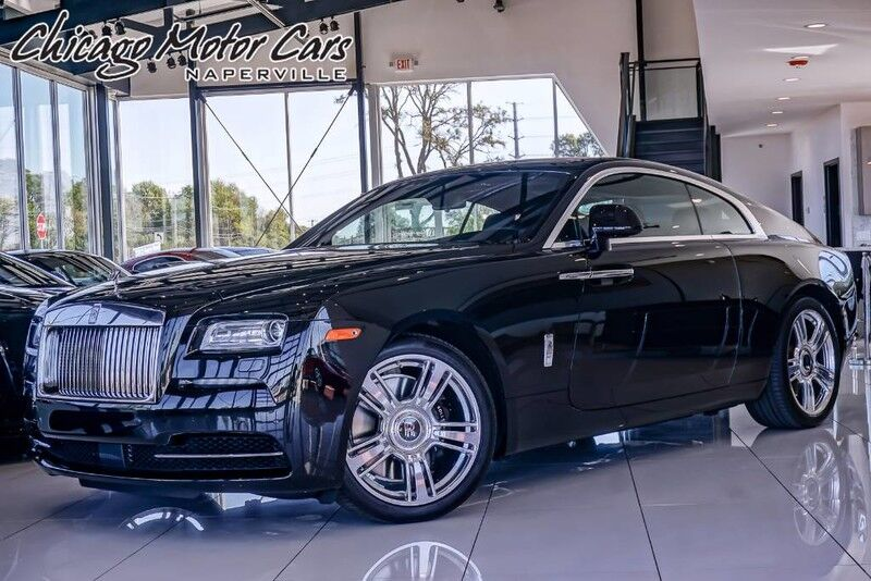 2015_Rolls-Royce_Wraith_Coupe_ Chicago IL