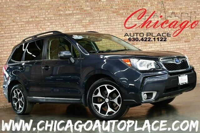 2015 Subaru Forester 2.0XT Touring - 1 OWNER 2.0L 4-CYL INTERCOOLED TURBO ENGINE ALL WHEEL DRIVE NAVIGATION BACKUP CAMERA PANO ROOF KEYLESS GO POWER LIFTGATE BLUETOOTH Bensenville IL