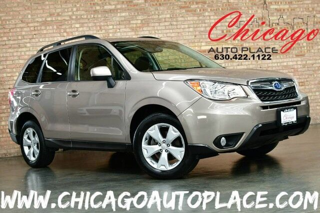 2015 Subaru Forester 2.5i Premium - 2.5L 4-CYL ENGINE ALL WHEEL DRIVE 1 OWNER BLACK CLOTH INTERIOR HEATED SEATS BACKUP CAMERA PANO ROOF BLUETOOTH Bensenville IL