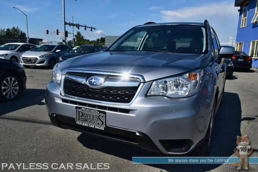 2015 Subaru Forester 2.5i Premium / AWD / Automatic / Power & Heated Seats / Panoramic Sunroof / Bluetooth / Back Up Camera / Cruise Control / 32 MPG / 1-Owner Anchorage AK