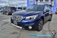 2015_Subaru_Outback_2.5i Limited / AWD / Eye Sight Pkg / Heated Leather Seats / Navigation / Sunroof / Harman Kardon Speakers / Adaptive Cruise Control / Lane Departure & Blind Spot Alert / Bluetooth / Back Up Camera / Aluminum Wheels / 33 MPG / 1-Owner_ Anchorage AK