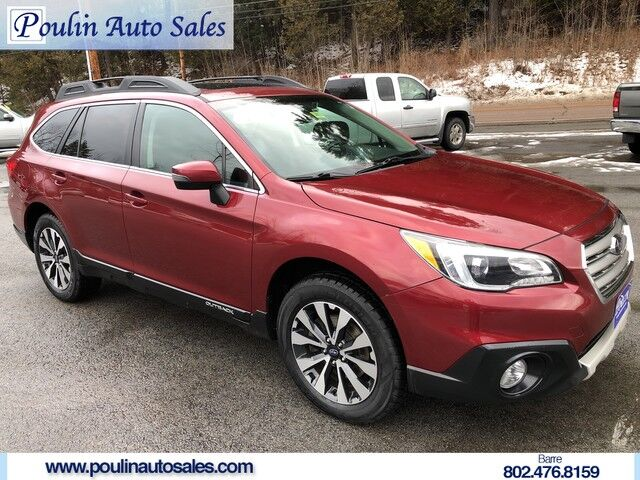 2015 Subaru Outback 3.6R Limited Barre VT