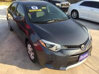 TOYOTA COROLLA 4 DOOR SEDAN 2015