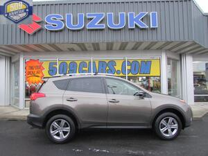 2015 TOYOTA RAV4 XLE XLEThis vehicle is a certified CARFAX 1-owner It has a L4 25L high output