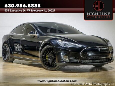 2015_Tesla_Model S_70 kWh Battery_ Willowbrook IL