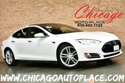 2015_Tesla_Model S_70D - 1 OWNER AUTOPILOT ENABLED PANO ROOF ALL WHEEL DRIVE SUBZERO PACKAGE PREMIUM INTERIOR + LIGHTING ALCANTARA HEADLINER_ Bensenville IL