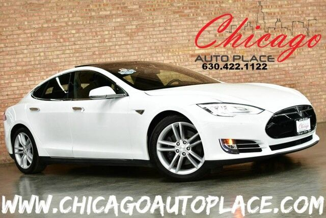 2015 Tesla Model S 70D - 1 OWNER AUTOPILOT ENABLED PANO ROOF ALL WHEEL DRIVE SUBZERO PACKAGE PREMIUM INTERIOR + LIGHTING ALCANTARA HEADLINER Bensenville IL