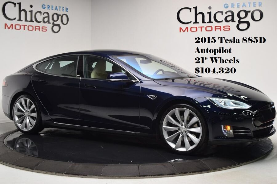 2015_Tesla_Model S_85D_ Glendale Heights IL