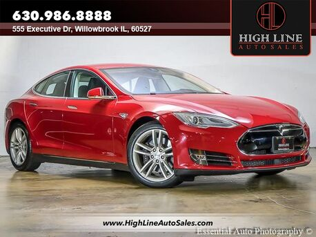 2015_Tesla_Model S_85D_ Willowbrook IL