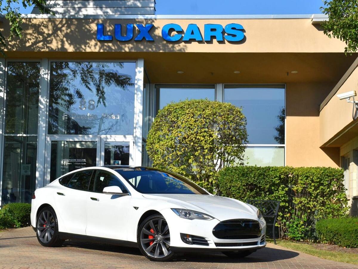 2015_Tesla_Model S_P90D Ludicrous Panoroof Autopilot AWD_ Buffalo Grove IL