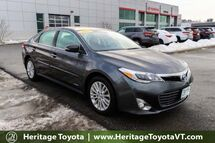 2015 Toyota Avalon Hybrid XLE Touring South Burlington VT