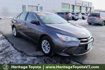 2015 Toyota Camry LE South Burlington VT