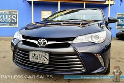 2015_Toyota_Camry_XLE / Automatic / Power & Heated Leather Seats / Bluetooth / Back-Up Camera / Cruise Control / Keyless Entry / 35 MPG_ Anchorage AK
