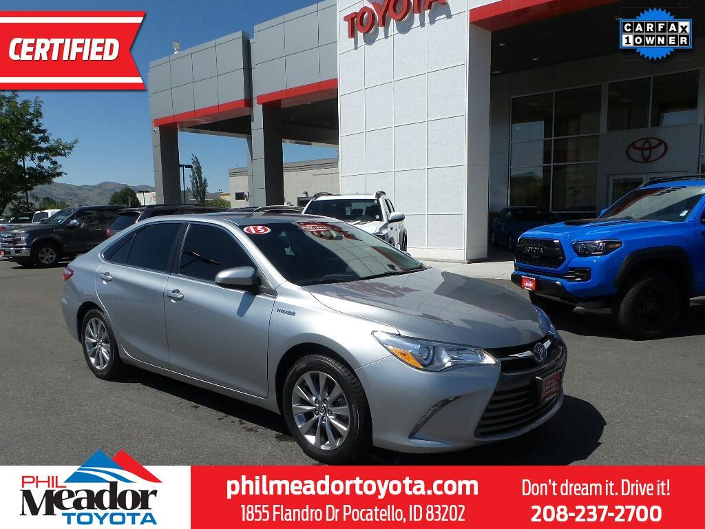 Phil Meador Toyota >> 2015 Toyota Camry Xle