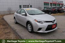 2015 Toyota Corolla L South Burlington VT