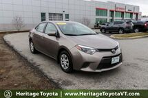 2015 Toyota Corolla LE ECO South Burlington VT