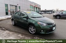 2015 Toyota Corolla LE Plus South Burlington VT