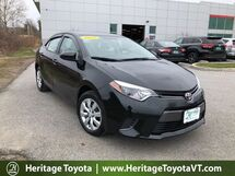 2015 Toyota Corolla LE South Burlington VT