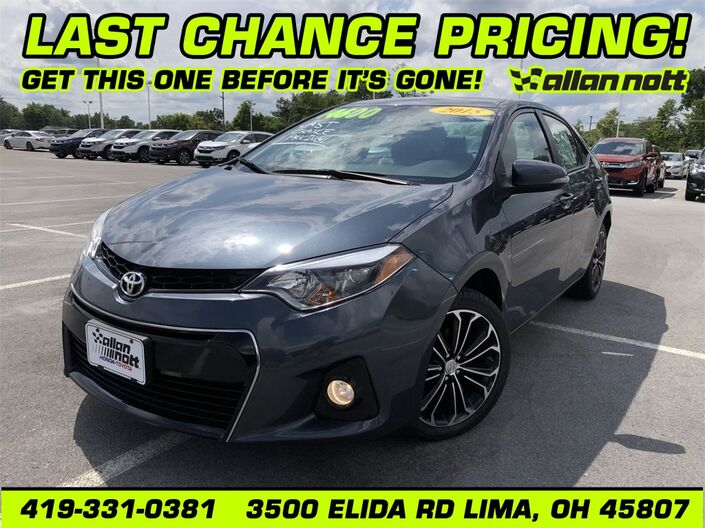 2015 Toyota Corolla S Plus Lima OH