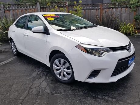 2015 Toyota Corolla S Plus Redwood City CA