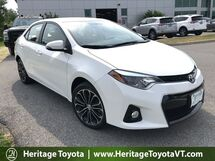 2015 Toyota Corolla S Plus South Burlington VT